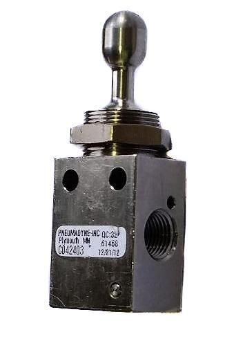Toggle Switch Pneumatic 3 Position 3 Way