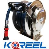 20mm Spring Rewind Hose Reel Stainless Steel