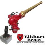 Elkhart SideWinder Remote Control Electric Cannon With Brass Straight Nozzle and Joy Stick Control - 12V