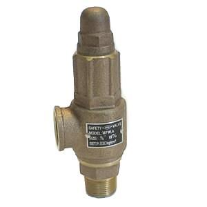 "Pressure Relief Valve 40mm (1.5"") Bare"