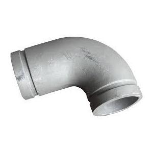 "80mm (3"") Elbow Grooved 90d - Aluminium"