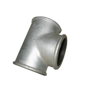 "100mm (4"") Tee Threaded - Gal Mal"