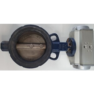 "SPECIAL - Butterfly Valve - 125mm (5"") with 1/4 ports"