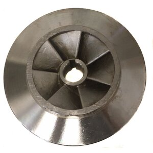 "Water Wise 100mm (4"") X 80mm (3"") ISO Water Pump Impeller - Counterclockwise (CCW)"