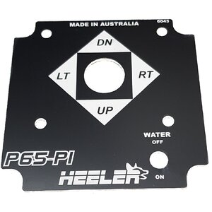 Control System - Faceplate P65-P1 Heeler Water Canon